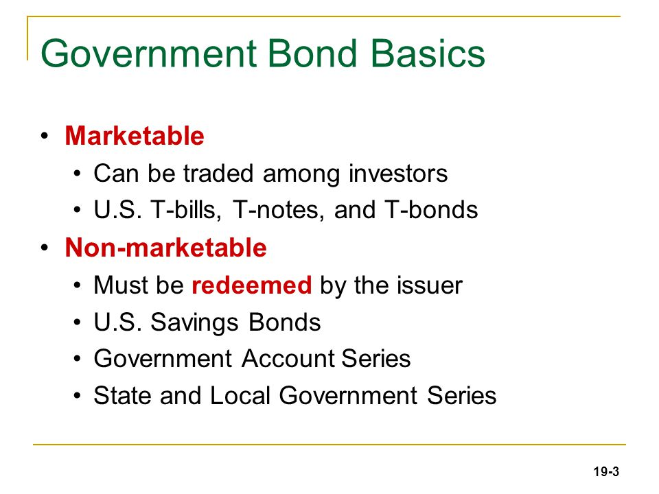 19-34 Municipal Bonds