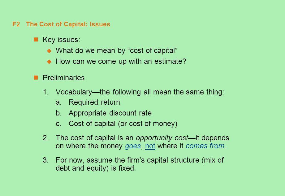 F23 A Problem (continued) a.MV D = 100,000 ($1,000) (.89) = $89M MV E = 8M($35) = $280M MV p = 1M($60) = $60M V = 89M + 280M + 60M = $429M D/V=89M/429M =.207, E/V = 280M/429M =.653, and P/V=60M/429M =.140.