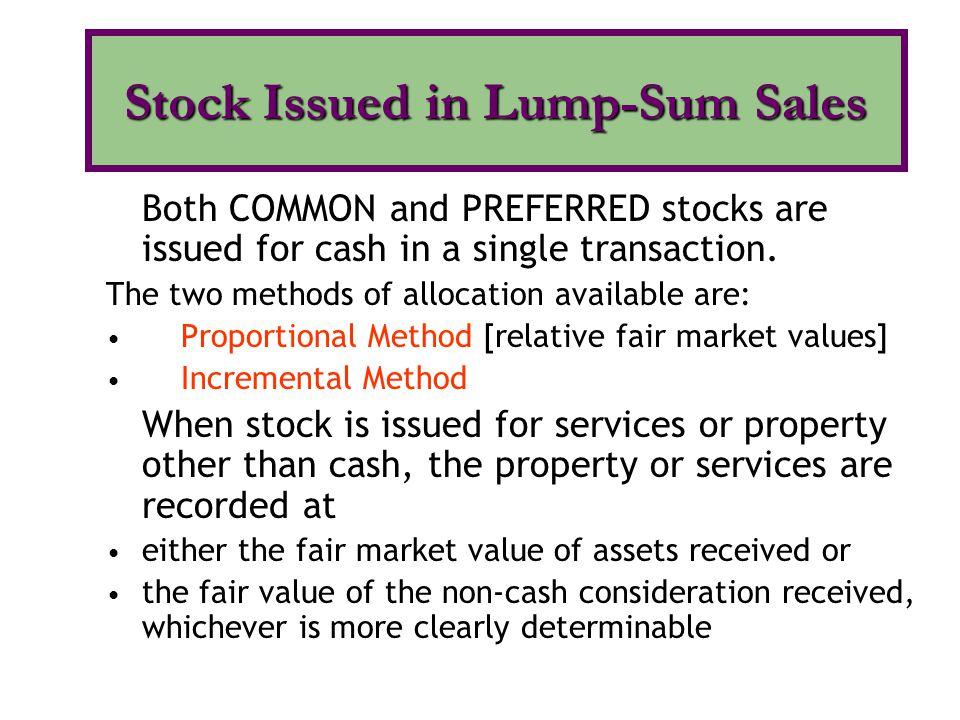 Cumulative preferred stock Participating preferred stock: Fully Participating Partially Participating Convertible preferred stock Callable preferred stock Redeemable preferred stock Preferred Stock: Features