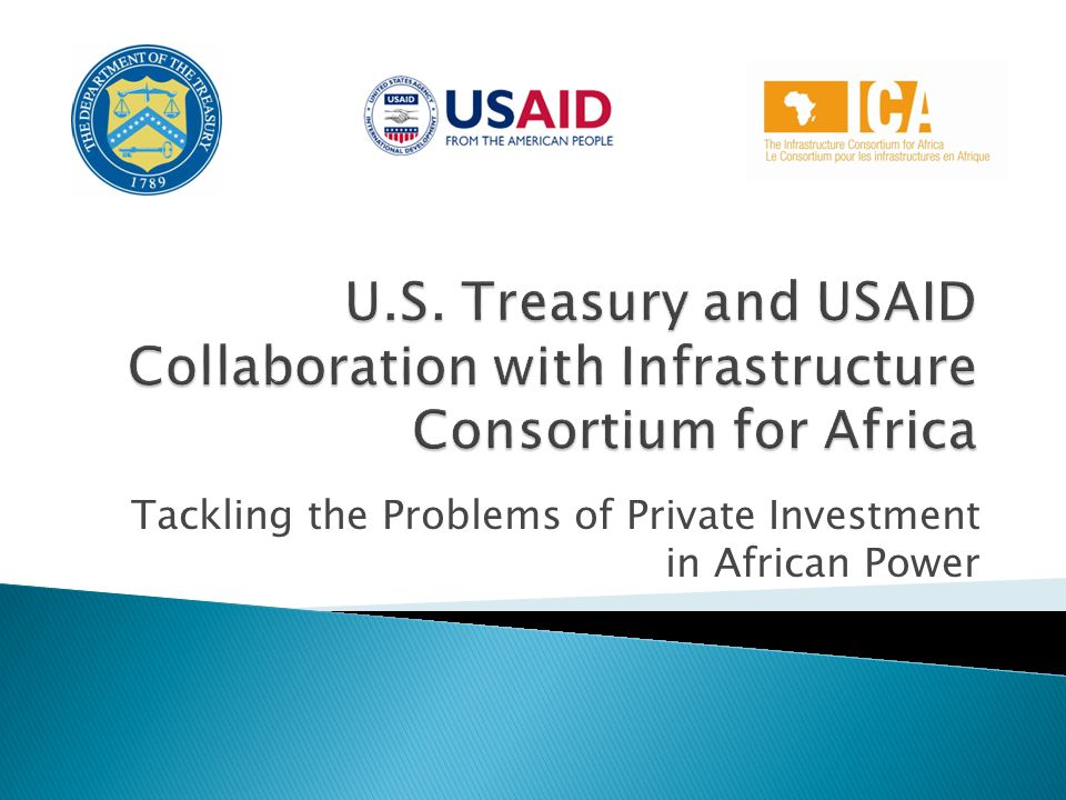 Tackling the Problems of Private Investment in African Power