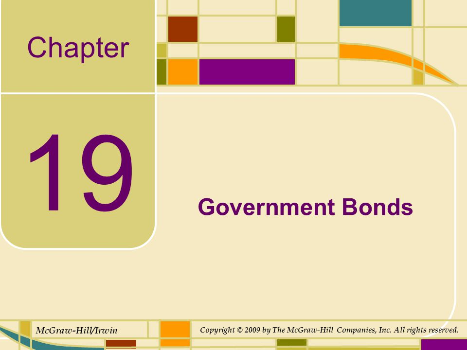 19-32 Types of Municipal Bonds Bonds issued by a municipality that are secured by the full faith and credit (general taxing powers) of the issuer are known as general obligation bonds (GOs).