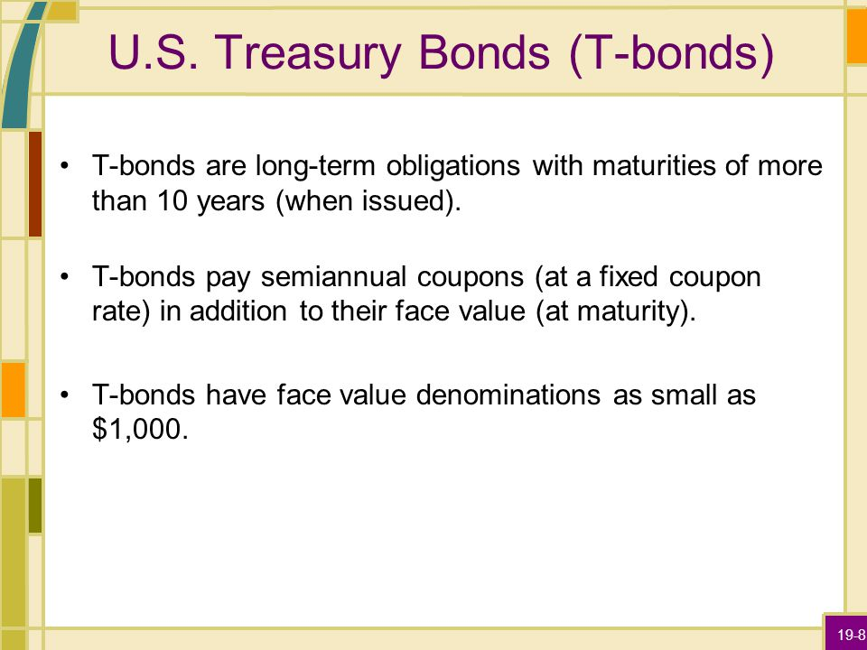 19-29 Municipal Bonds