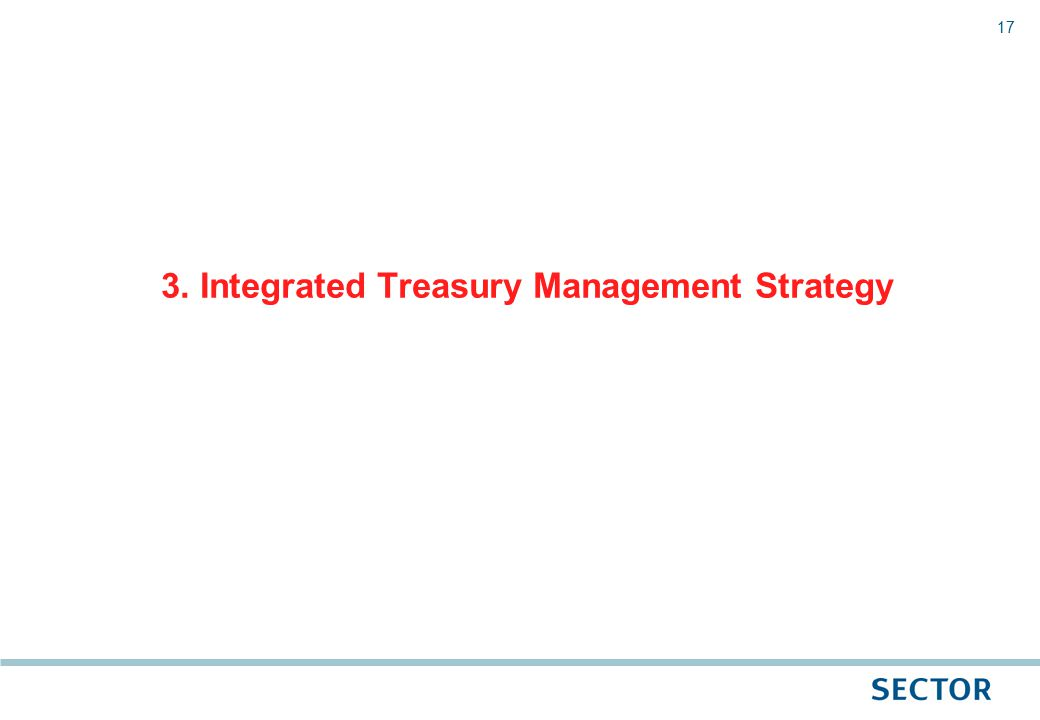 17 3. Integrated Treasury Management Strategy