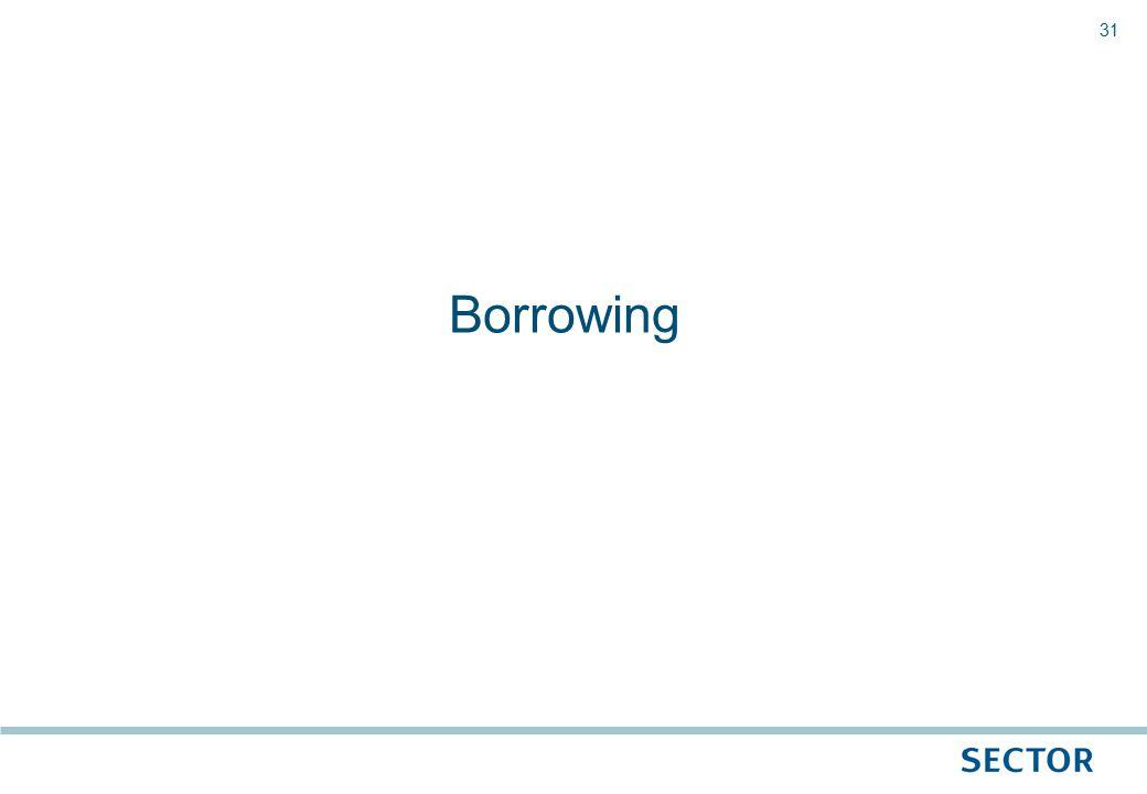 31 Borrowing