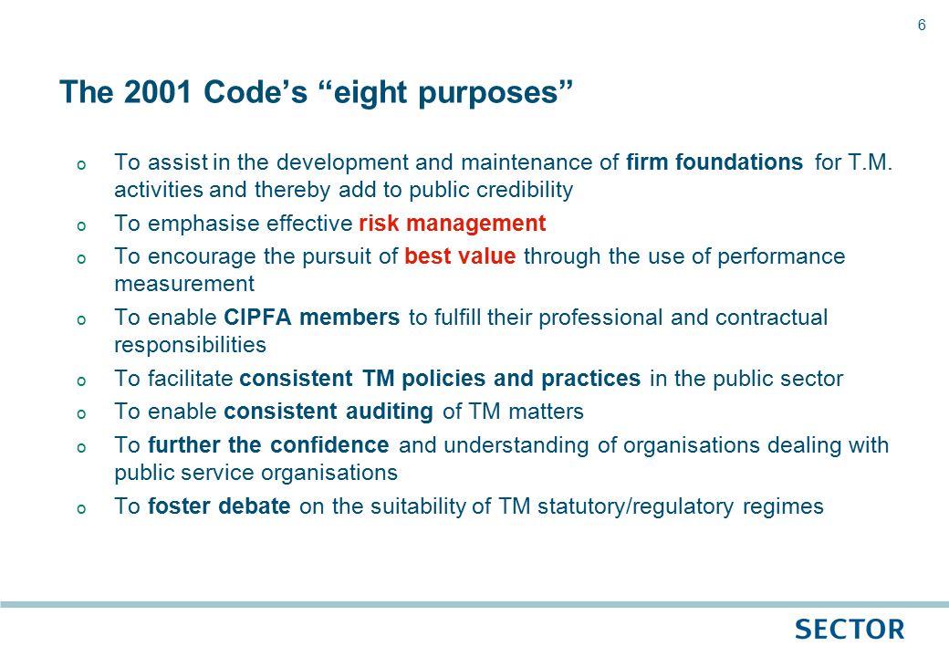 27 Sector's 2009 credit rating matrix