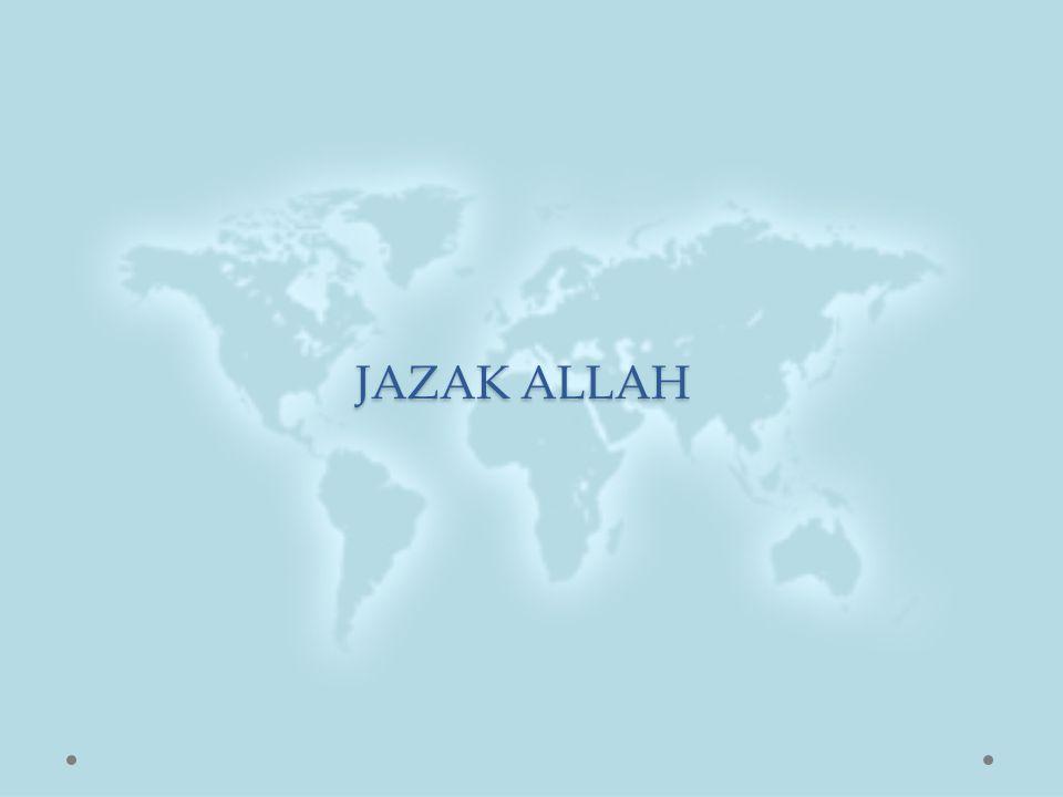 JAZAK ALLAH