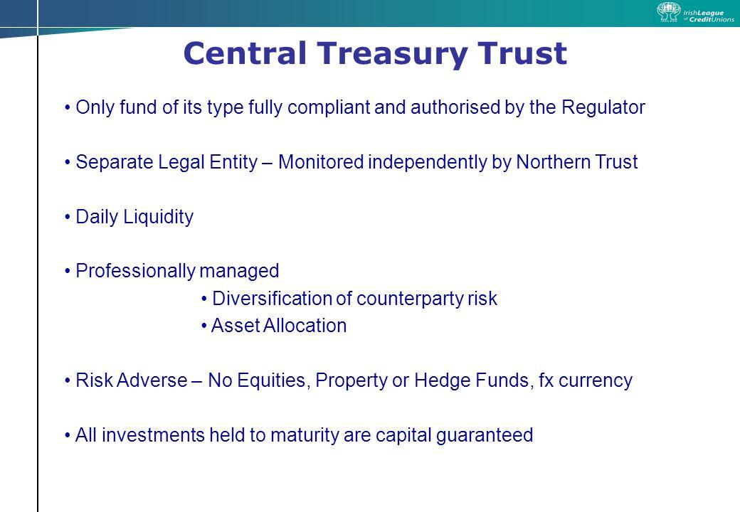 Central Treasury Trust Q&A Session
