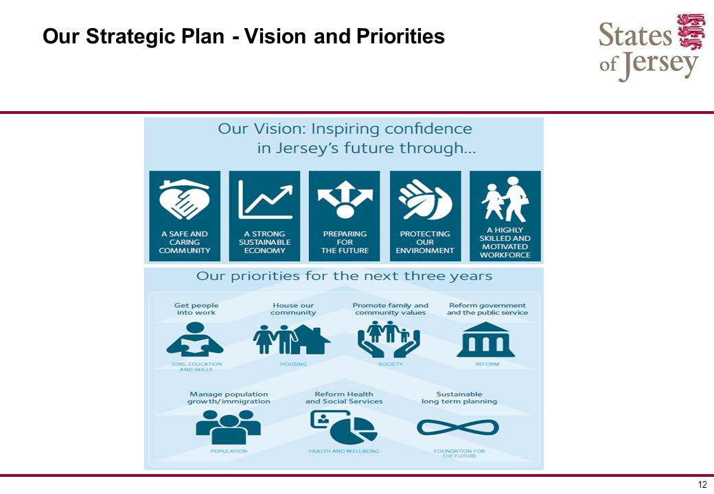 12 Our Strategic Plan - Vision and Priorities