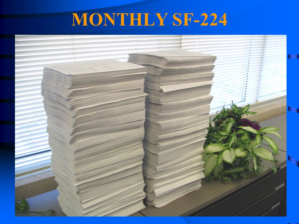 MONTHLY SF-224