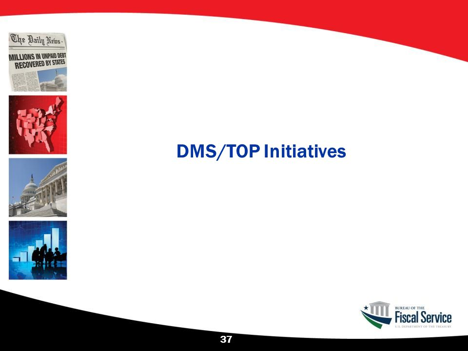 DMS/TOP Initiatives 37