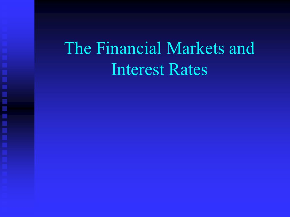 Real and Financial Assets n Real Assets—Tangible assets such as houses, equipment and inventories n Financial Assets—Claims for future payment on other economic units— common and preferred stocks