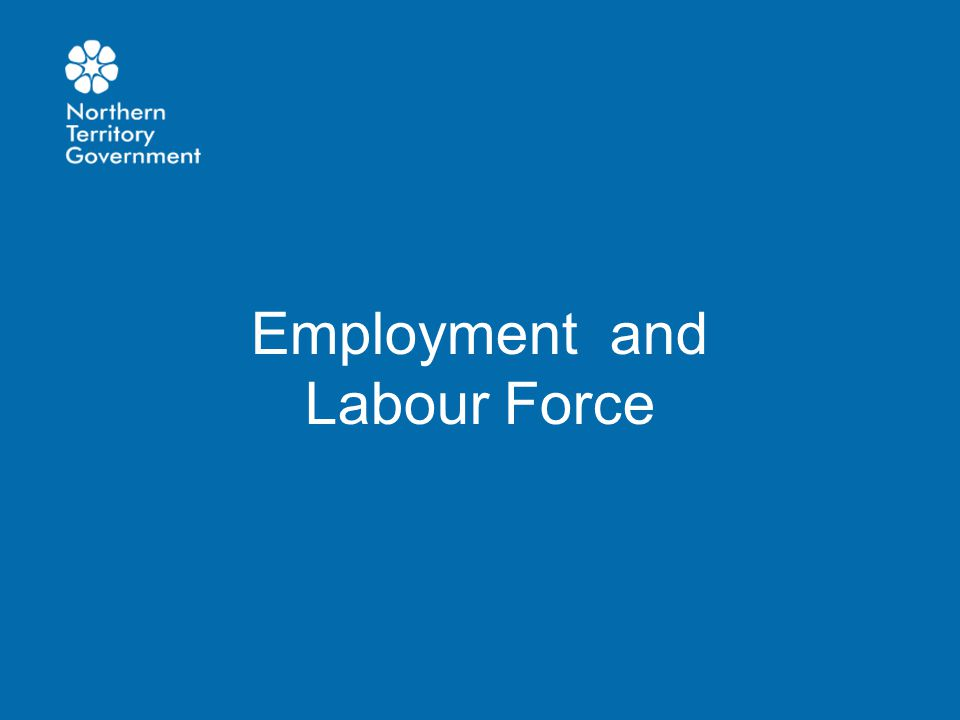 Employment and Labour Force