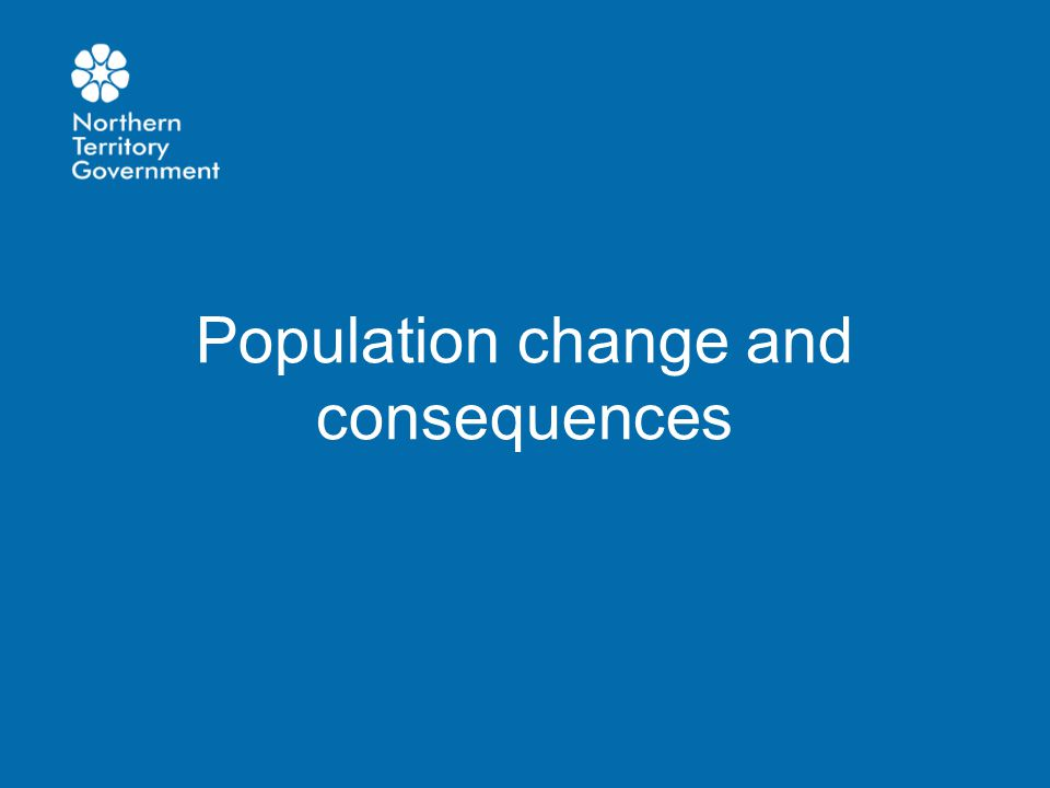 Population change and consequences