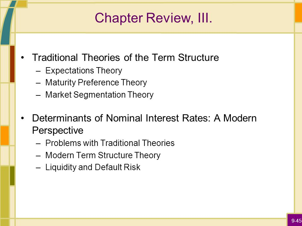 9-45 Chapter Review, III.
