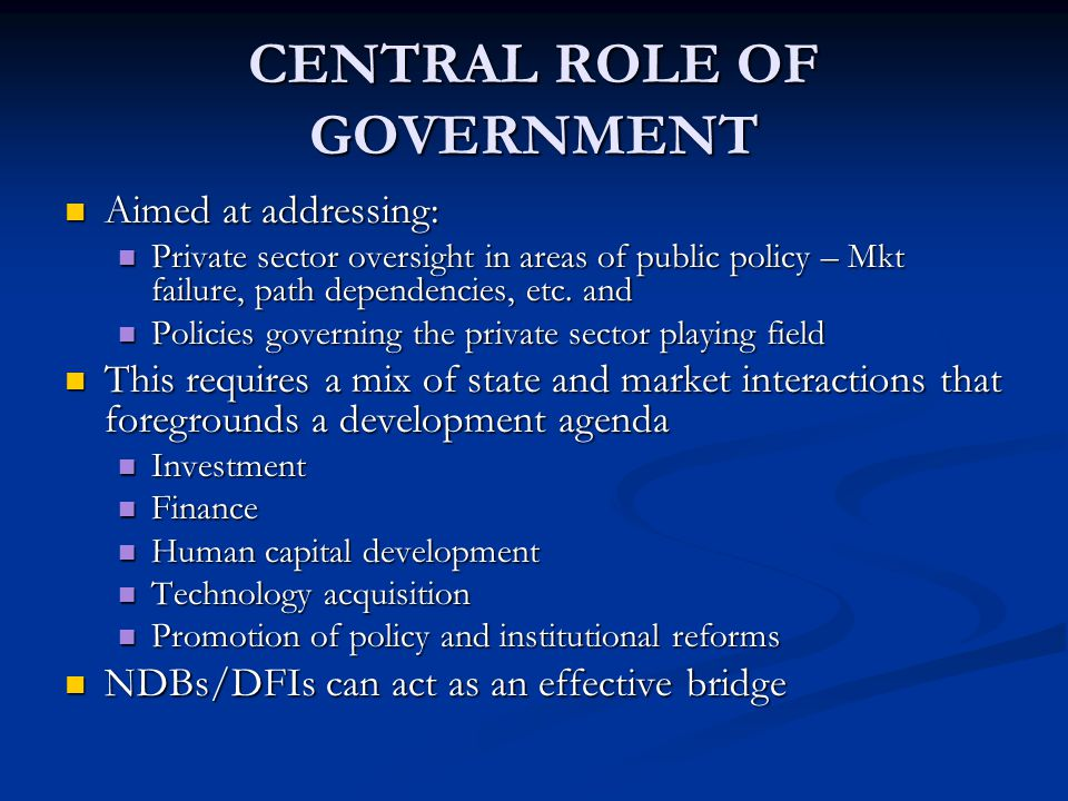 FINANCIAL SECTOR CHARTER CLEARLY ARTICULATED POLICY - BEE + VISIONARY PVT SECTOR LEADERSHIP PVT SECTOR RESOURCES FOR DEVELOPMENT
