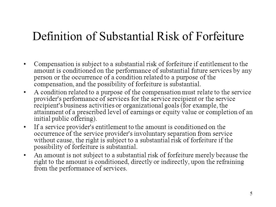 16 Separation Pay Plans Code Section 409A does not apply to certain Separation Pay Plans A Separation Pay Plan is an arrangement that meets the following requirements: (1) The separation pay (other than reimbursements and certain other separation payments) may not exceed two times the lesser of: (a) the sum of the service provider s annualized compensation based upon the annual rate of pay for services provided to the service recipient for the taxable year of the service provider preceding the taxable year of the service provider in which the service provider has a separation from service with such service recipient (adjusted for any increase during that year that was expected to continue indefinitely if the service provider had not separated from service), or (b) the maximum amount that may be taken into account under a qualified plan pursuant to Code Section 401(a)(17) ($245,000 for 2009) for the year in which the service provider has a separation from service; and (2) The separation pay must be paid no later than the end of the second taxable year following the taxable year in which the separation from service occurs.