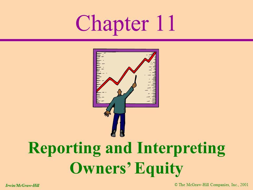 © The McGraw-Hill Companies, Inc., 2001 Irwin/McGraw-Hill Par Value Market Value  I get it!