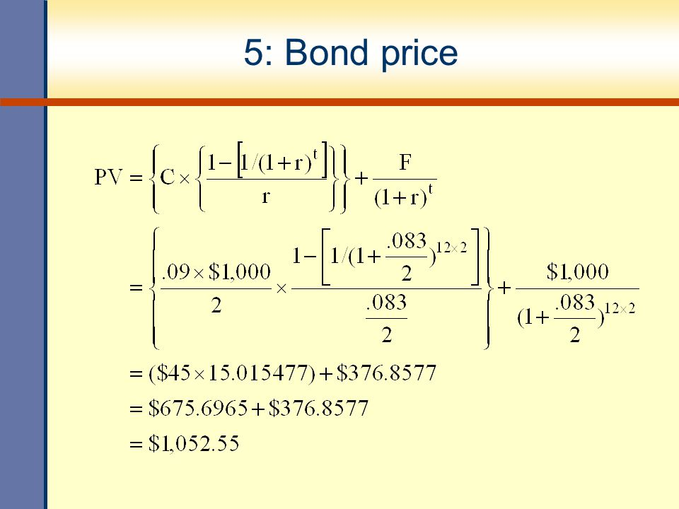 Interest rate risk The risk to bearing the fluctuation of interest rate increase Time to maturity Decrease Coupon rate