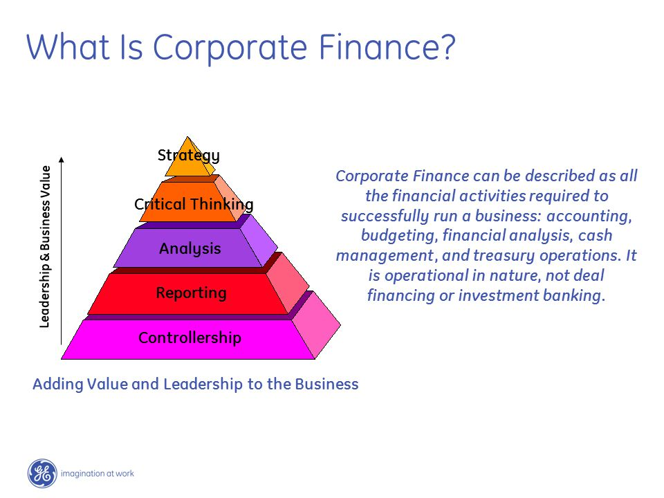 What Is Corporate Finance.