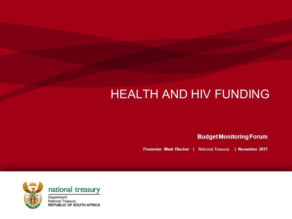 Estimate of national HIV spend 32