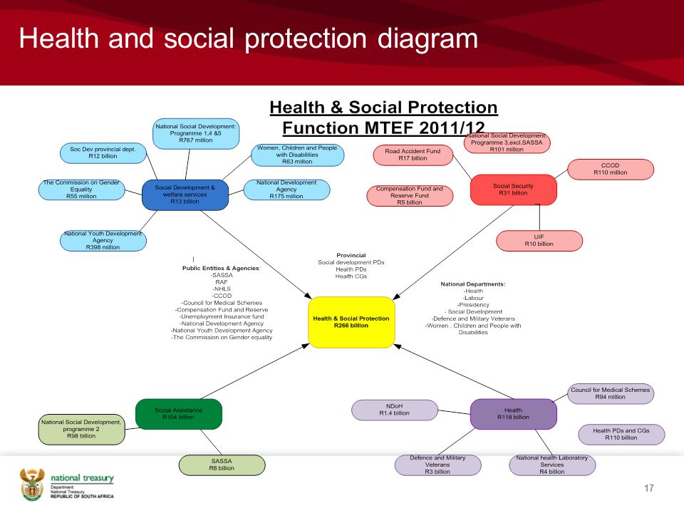 Health and social protection diagram 17