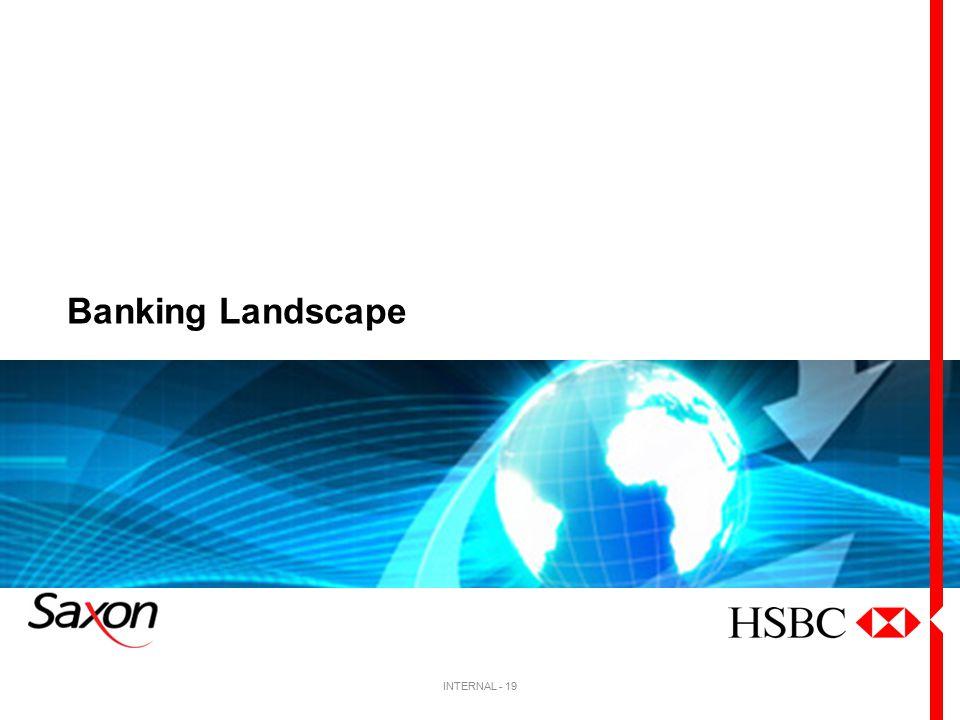 Banking Landscape INTERNAL - 19