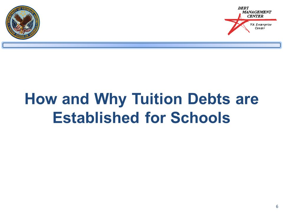 6 How and Why Tuition Debts are Established for Schools