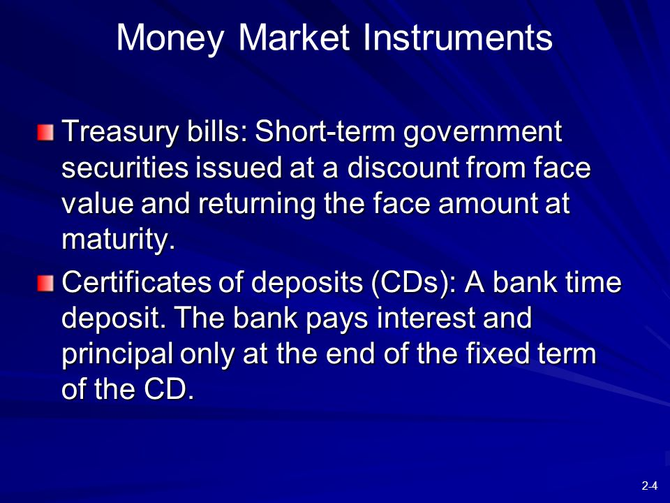 2-15 Figure 2.4 Treasury Notes and Bonds