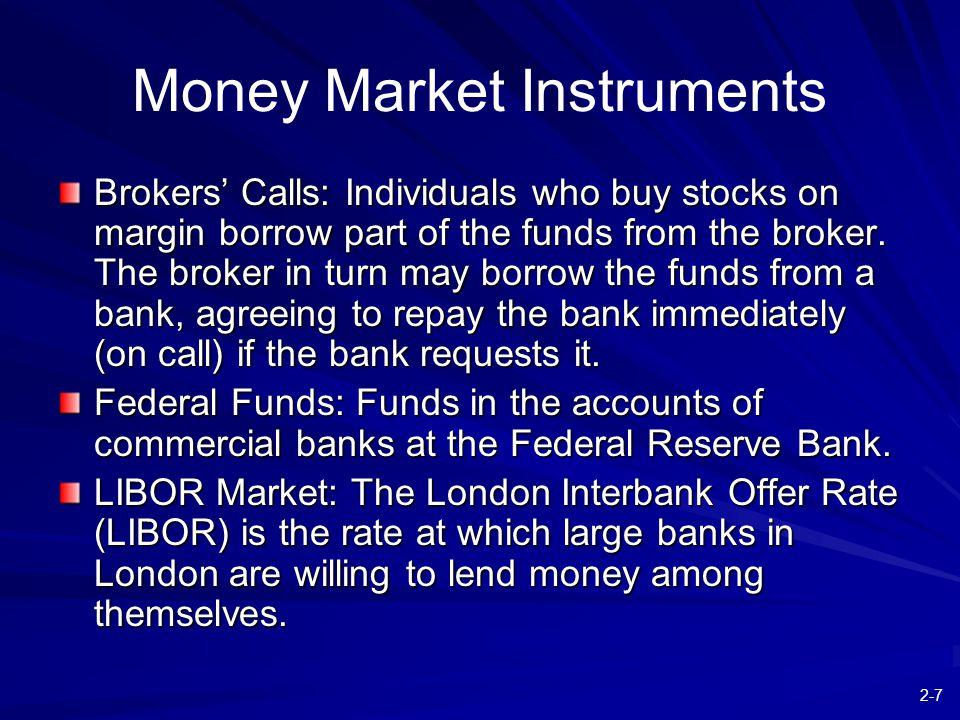 2-8 Figure 2.1 Money Rates