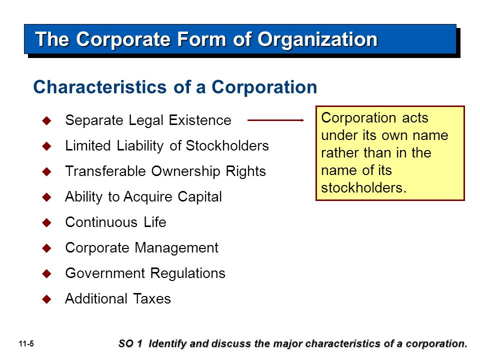 11-36   Preference on corporate assets if the corporation fails.
