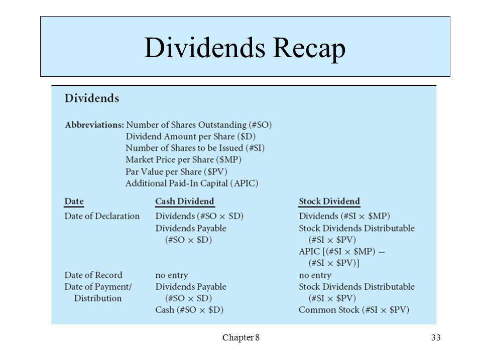 Chapter 833 Dividends Recap