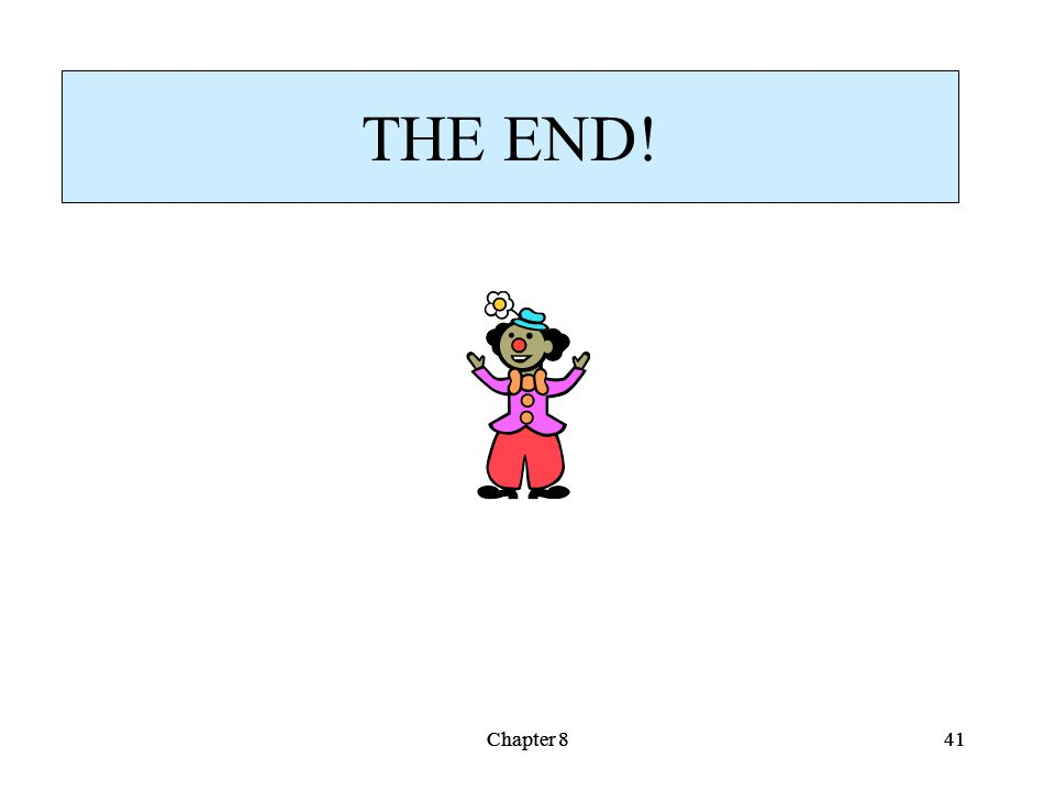 Chapter 841Chapter 841 THE END!