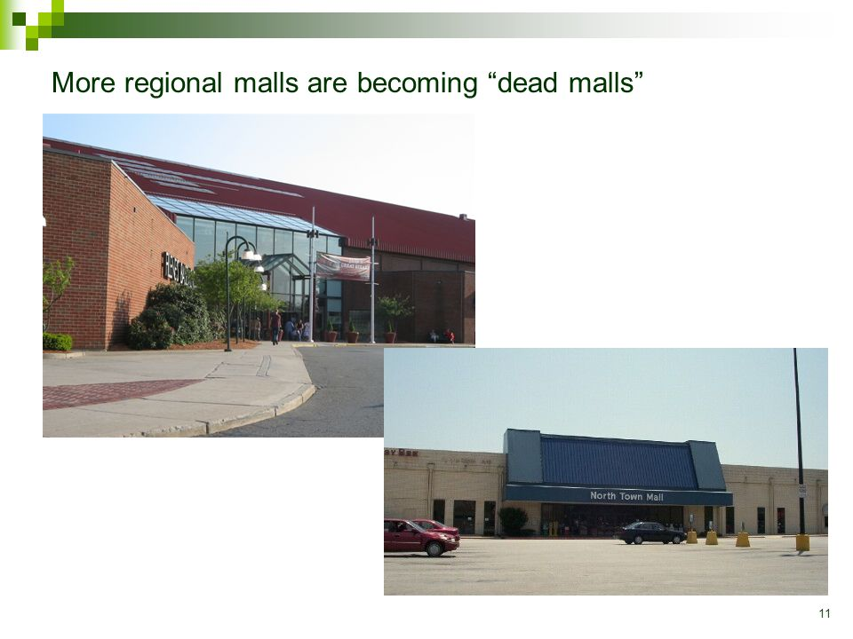 11 More regional malls are becoming dead malls