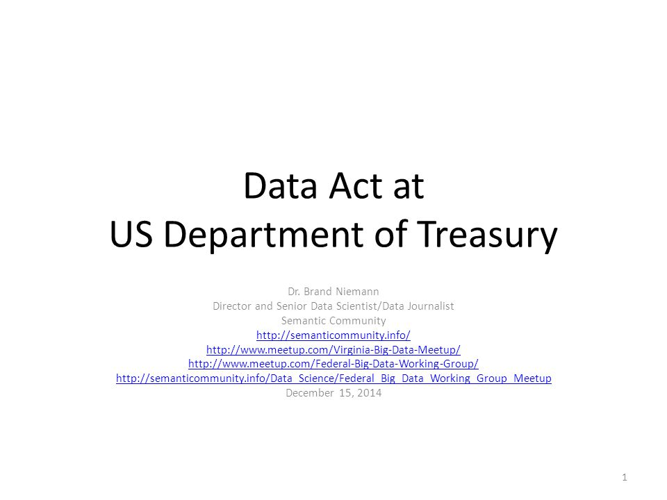 Data Transparency Coalition The Data Transparency Coalition advocates on behalf of the private sector and the public interest for the publication of government information as standardized, machine-readable data.