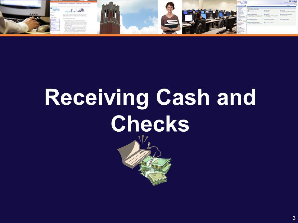 24 Cash Register Tape/UCR Preparing Deposit Cash Register Tape/UCR