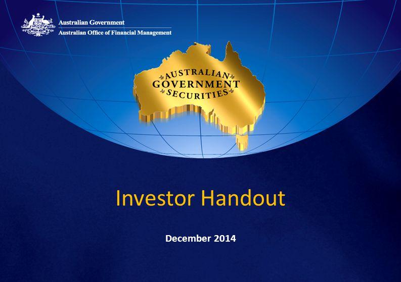 Investor Handout December 2014
