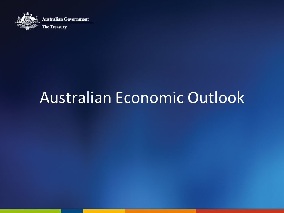 Australian Economic Outlook