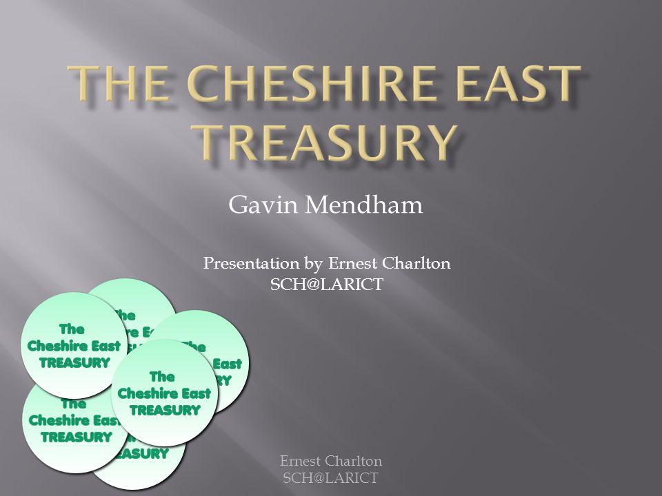 Presentation by Ernest Charlton SCH@LARICT Ernest Charlton SCH@LARICT Gavin Mendham