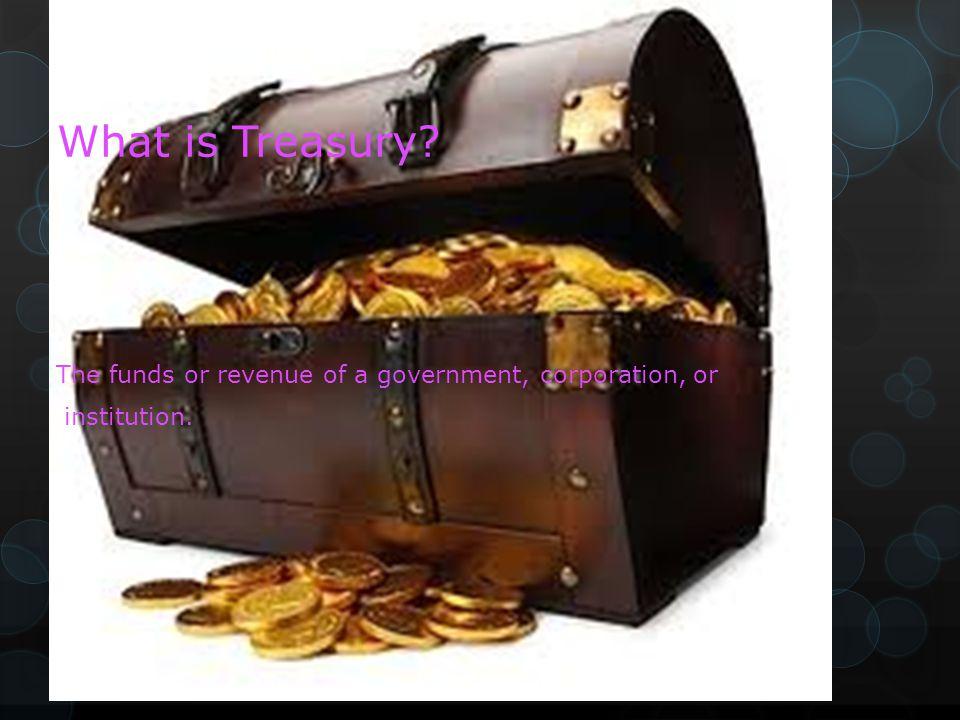 Treasury By Macinley Butson