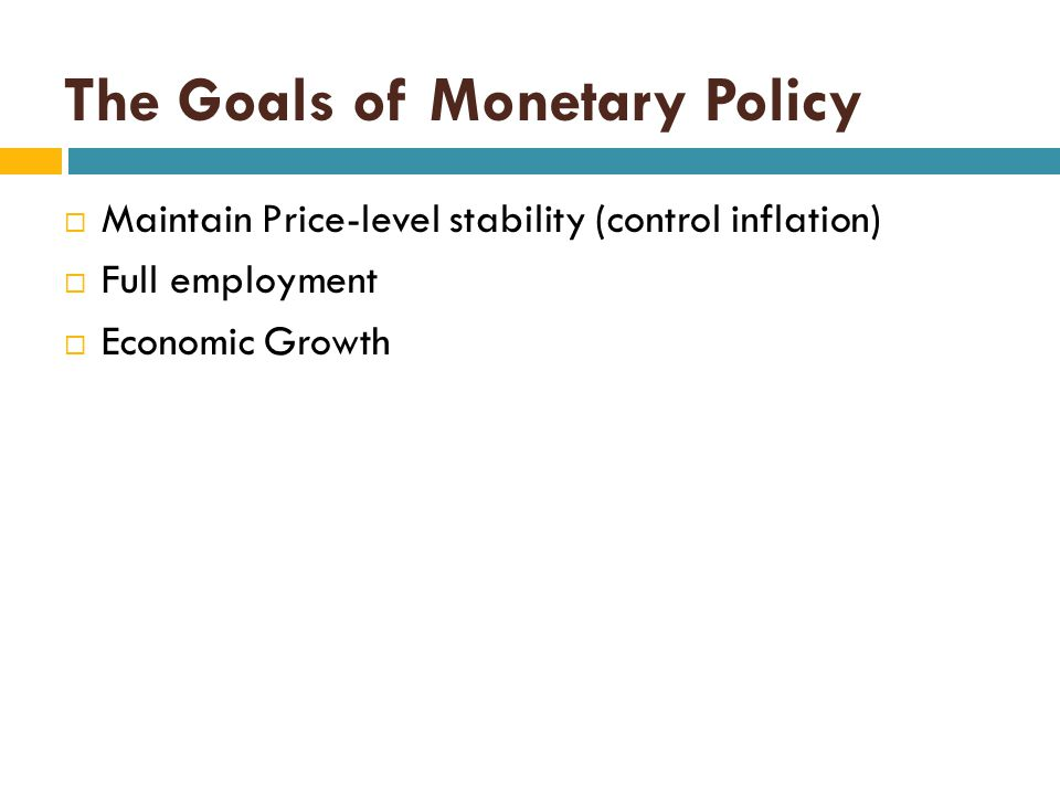 Tools of Monetary Policy  The Fed has three tools of Monetary Control that it can use to alter the reserves of Commercial Banks:  Open-Market Operations  The Reserve Ratio  The Discount Rate