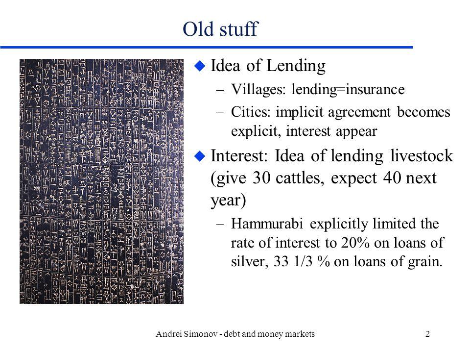 Andrei Simonov - debt and money markets13
