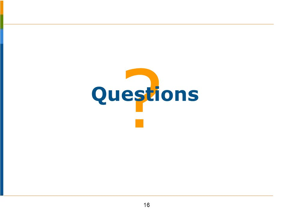 ? 16 Questions