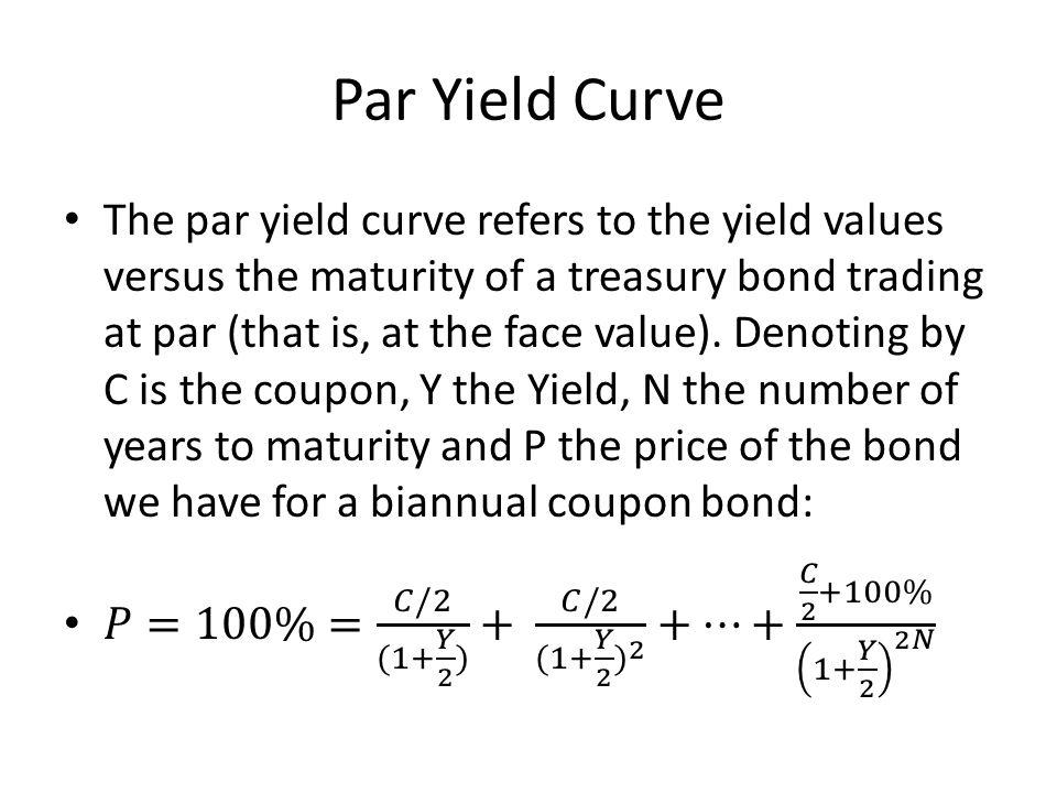 Par Yield Curve
