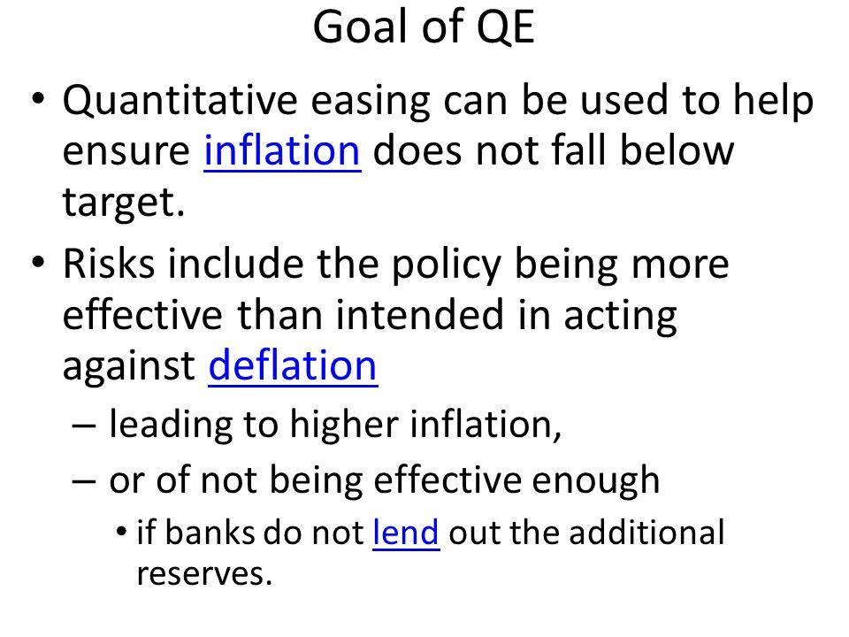 Videos http://www.youtube.com/watch?v=PTUY16CkS-k Quantitative Easing Explained http://www.youtube.com/watch?v=oGIvw7T0GPI&feature=watch_response Quantitative Easing Re-explained