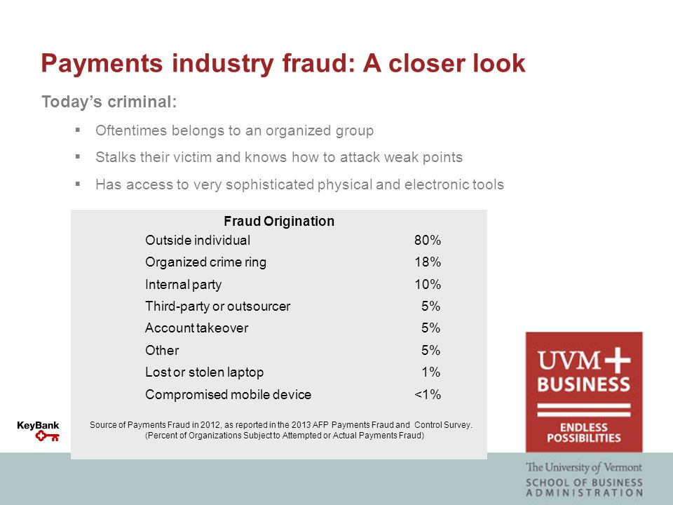 Payments fraud: Knowledge is power When it comes to preventing fraud, we all must take a proactive stance.