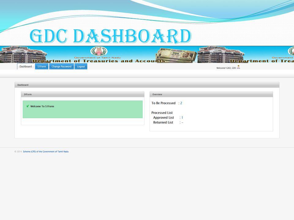 GDC Dashboard