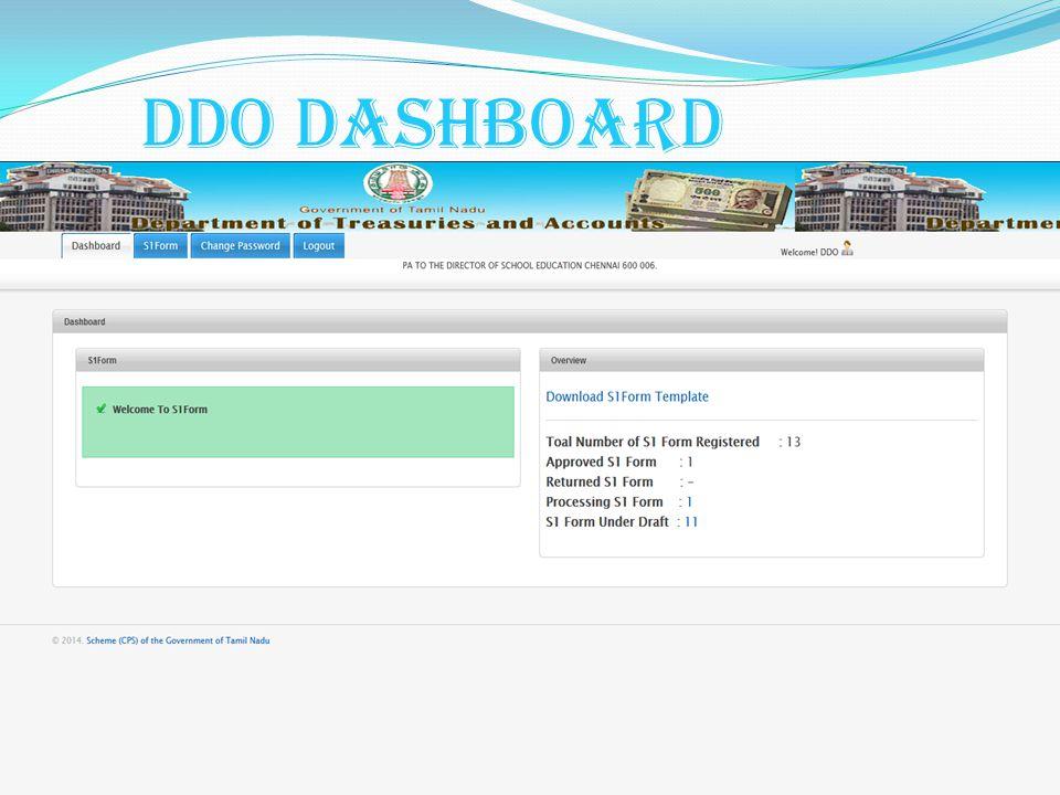 DDO Dashboard