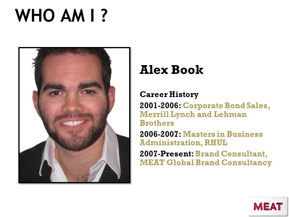 WHO AM I .