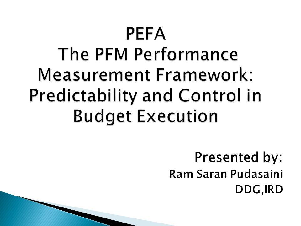 Presented by: Ram Saran Pudasaini DDG,IRD