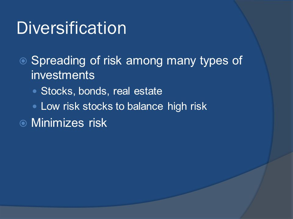 Types of Risk  Interest-Rate risk- chance that inflation will rise faster than the return on your investments Inflation makes your fixed-rate investments worth less because they are locked in at lower rates  Political risk- actions the government might take that would reduce the value of your investment